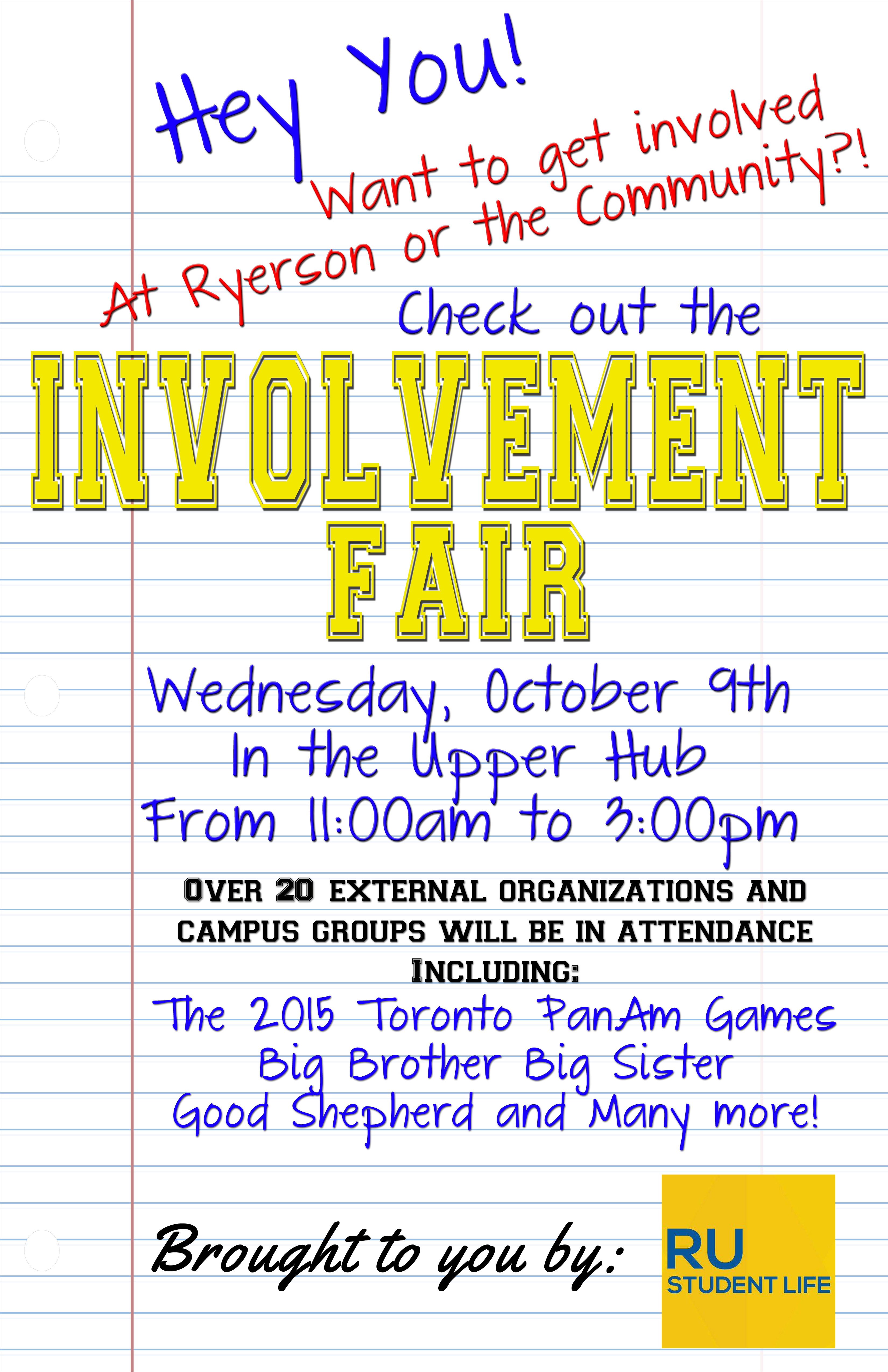 Volunteer and Involvement Fair